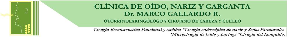 Clinica de Oido, Nariz y Garganta